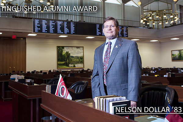 Distinguished Alumnus Award 2015: Rep. Nelson Dollar '83 '85