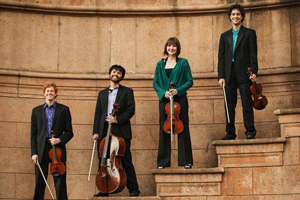 Friction Quartet performs Nov. 1 at Appalachian
