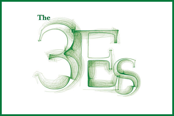 Faculty discuss sustainability's 3E's: economics, equity and environment
