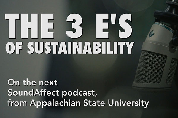 Podcast Preview: Faculty Discuss Sustainability's 3E's: economics, equity and environment