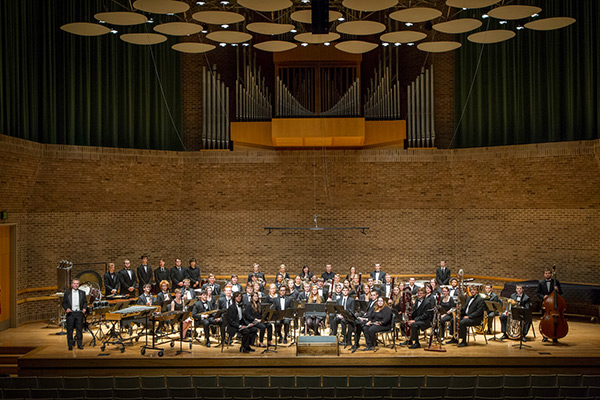Appalachian Wind Ensemble and tubaist Bethany Wiese perform Feb. 20