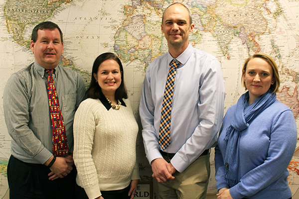 New staff members join Appalachian's Office of International Education and Development
