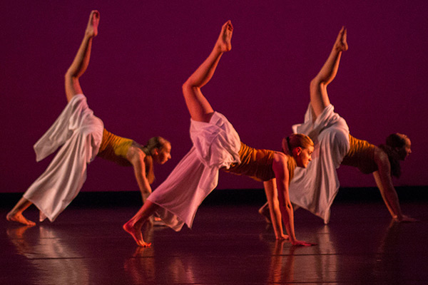 Original works by Appalachian students selected for Dance Association Conference