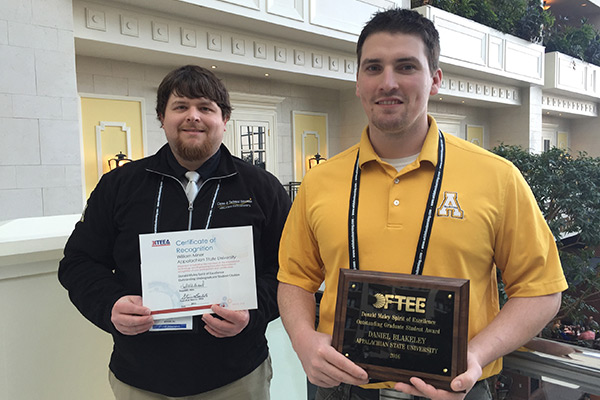 Students honored at ITEEA annual conference in Washington, D.C.