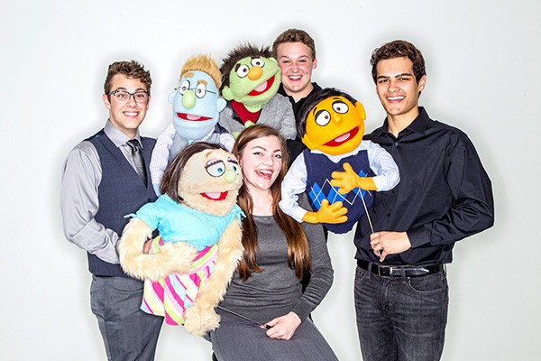 "Department of Theatre and Dance presents ""Avenue Q"" April 27–May 1"