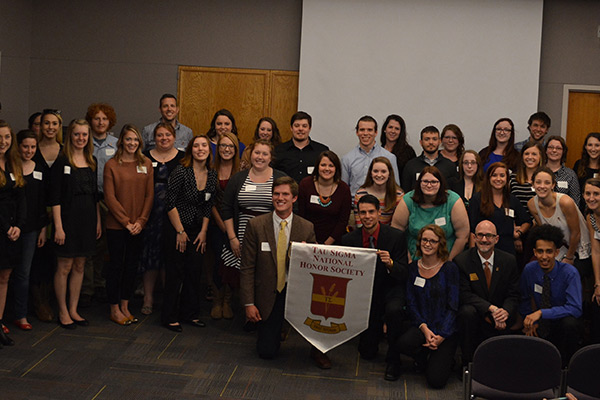 Tau Sigma National Transfer Student Honor Society inducts record 128 students
