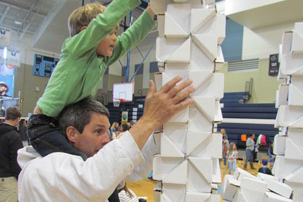 More than 200 Appalachian and community volunteers help Children's Playhouse's BuildFest