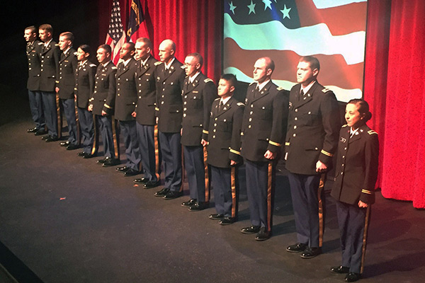 Ready to lead: Appalachian students commissioned as military officers