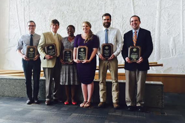Appalachian educators receive awards for work in University College, General Education