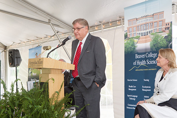 Groundbreaking ceremony for Beaver College of Health Sciences marks more than 10 years of planning