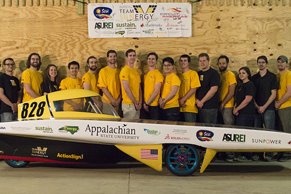 Solar Vehicle Team preps for summer competition, displays car at local events