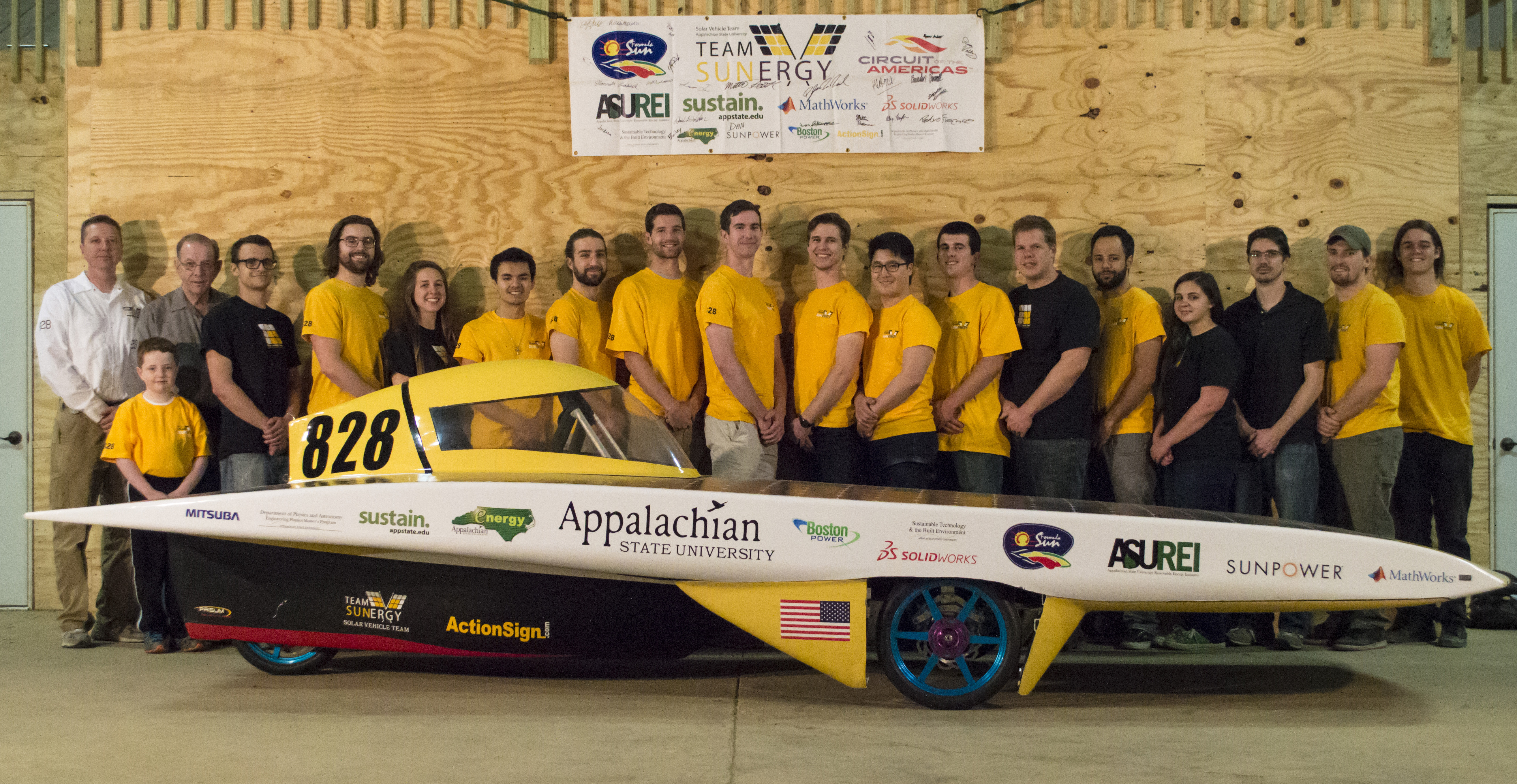 Solar Vehicle Team Preps For Summer Competition Displays Car At - Car events today near me