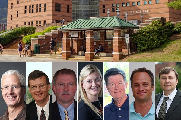 Walker College of Business faculty awarded professorships