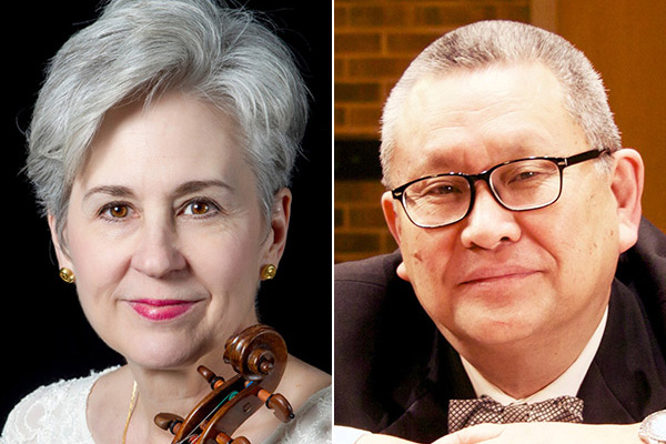 Nancy Bargerstock, violin, and Bair Shagdaron, piano, to present faculty performance Oct. 19 at Appalachian State University