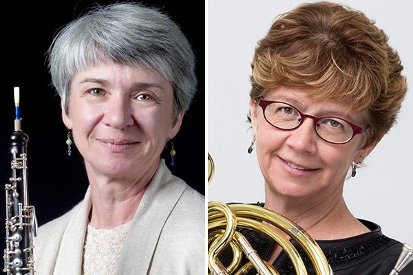 Alicia Chapman and Karen Robertson to be featured in a faculty performance Oct. 5