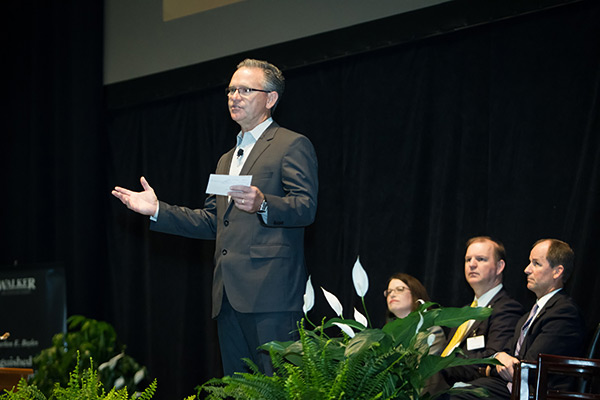 Transportation Insight chairman tells Appalachian State University students to lead with innovation, humility