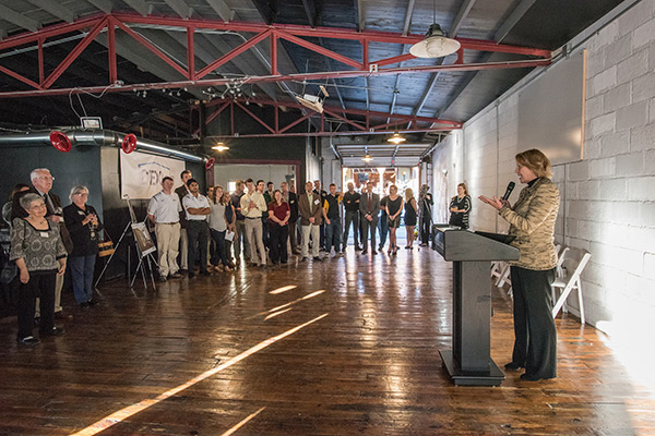 'Celebration of Innovation' showcases new Appalachian College of Fine and Applied Arts' campus/community space