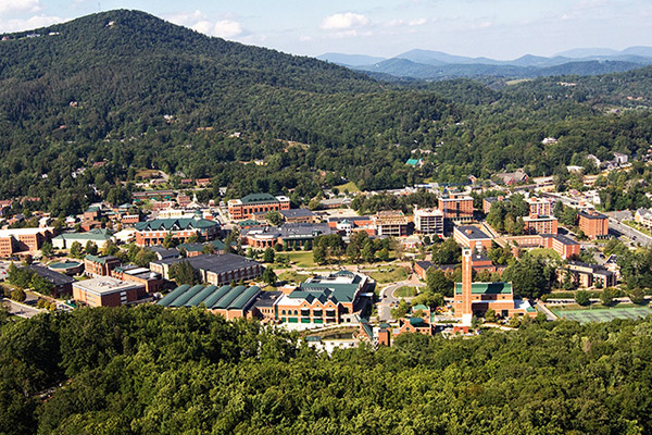 Energy savings at Appalachian State University – making strides toward a just and sustainable future