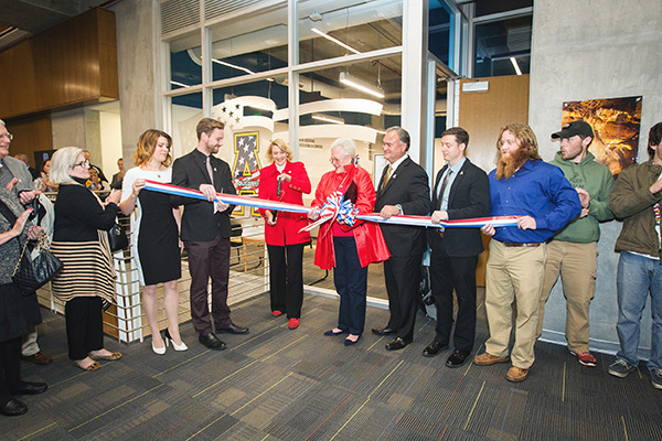 Appalachian State University marks Veterans Day with grand opening of Student Veteran Resource Center