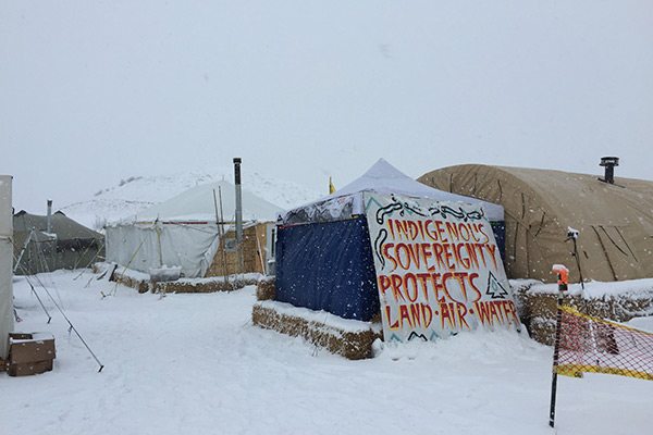 Photographs taken by Dr. Dana Powell during visits to Oceti Sakowin encampment at Standing Rock, North Dakota