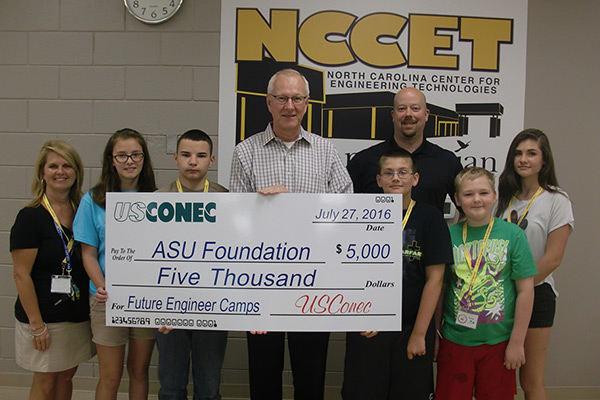 Future Engineer Camp donors fund summer camp for youths
