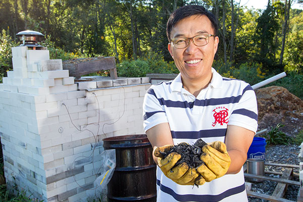 Dr. Ok-Youn Yu, extending the growing season with biomass