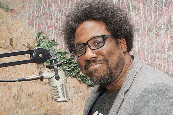 W. Kamau Bell on humor and serious issues