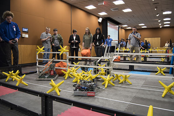 Over 600 students from 30 area schools compete in technology association competition at Appalachian