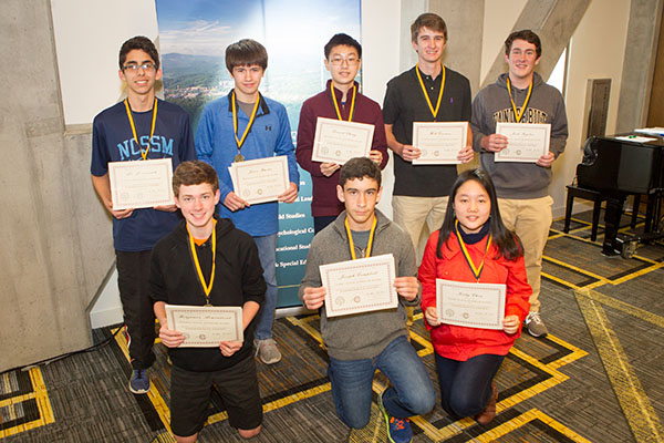 Middle and high school students compete in regional math competition hosted by Appalachian