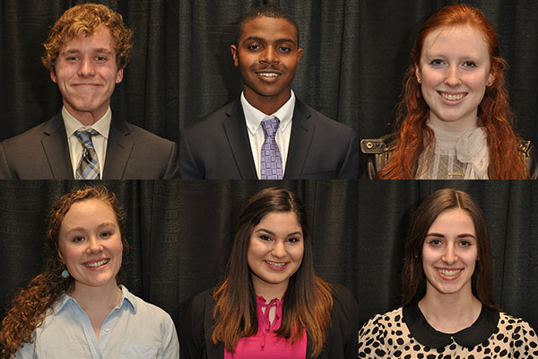 Six high school seniors receive Wilson Scholarship, Appalachian's most prestigious, merit-based award