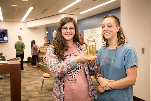Concept for turning corn chip oil into biodiesel fuel earns Appalachian students second place in international Food Solutions Challenge