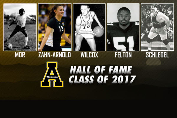App State Announces 2017 Athletic Hall of Fame Class