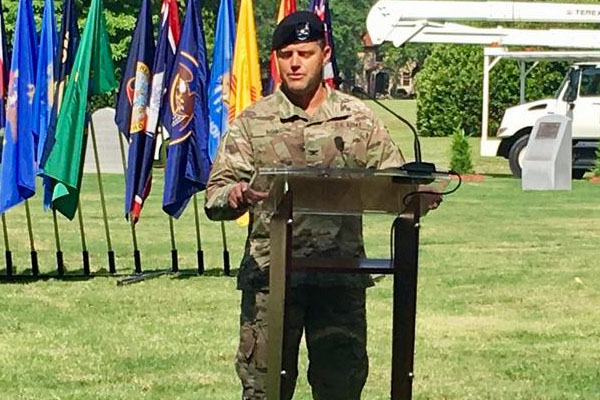 NC-raised officer takes command as 'Mayor of Fort Bragg'