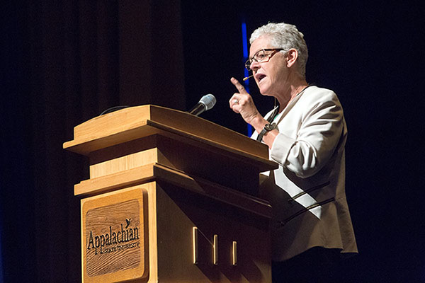 Find Your Sustain Ability: Former Head of EPA Gina McCarthy