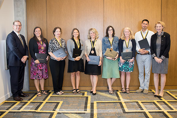 Faculty and staff honored for excellence