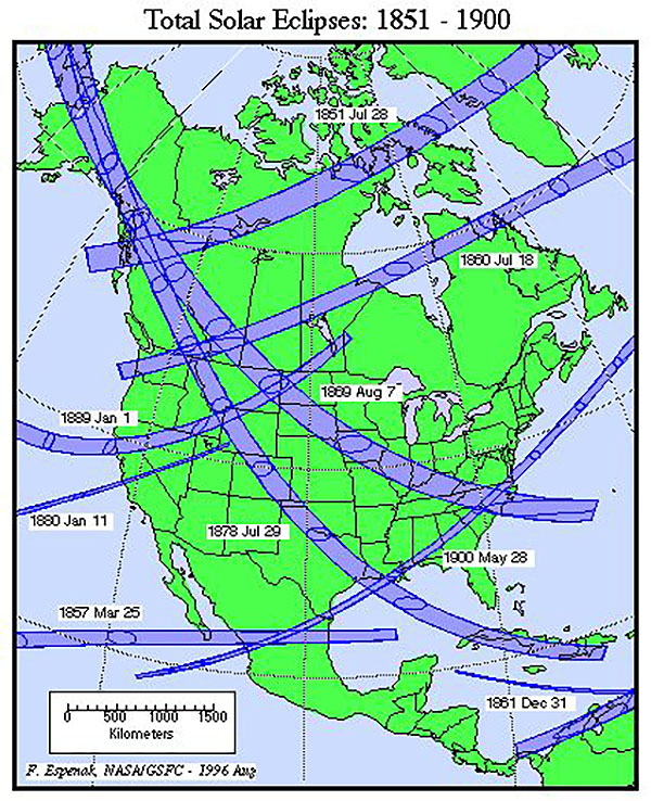 History Of Total Solar Eclipses In North Carolina Appalachian Today