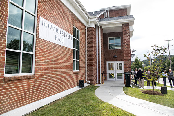 Appalachian's Howard Street Hall ready for students, faculty