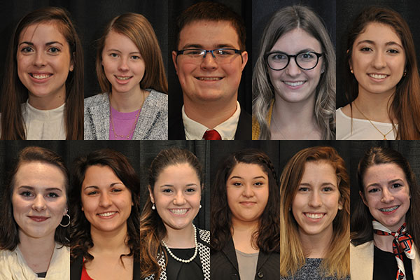 Appalachian awards 11 students Plemmons Scholarships for 2017-2018