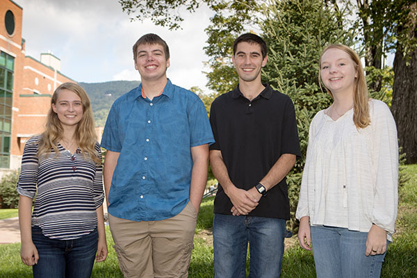 Five Appalachian legacy first-year students earn Alumni Memorial Scholarships