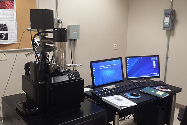 Appalachian's NSF-funded scanning electron microscope supports undergraduate research