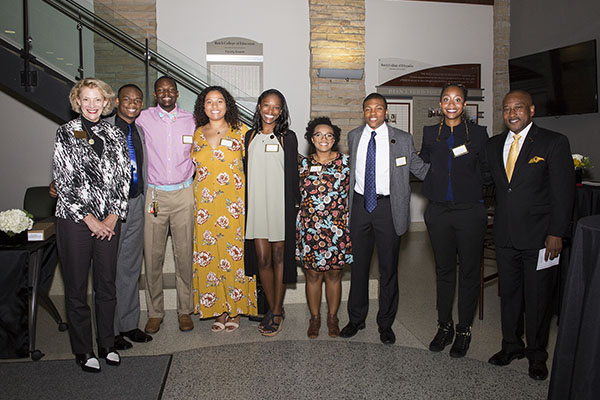 Appalachian's Fleming Scholars honored at pinning ceremony Oct. 6