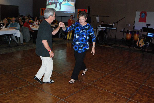 Sold-Out 2nd Annual Community-Wide Fall Shag Dance Held on September 30th