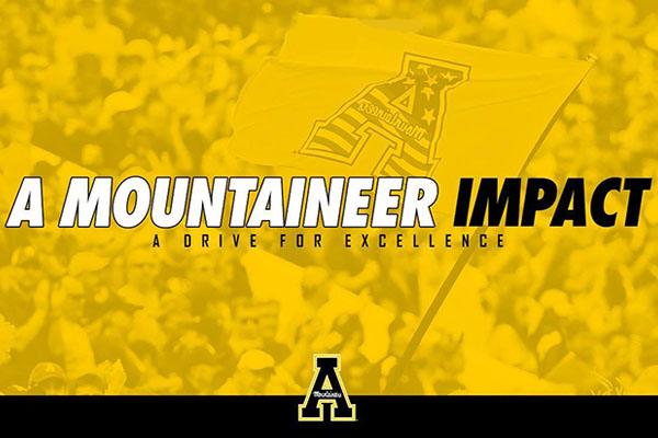 App State Launches A Mountaineer Impact Initiative