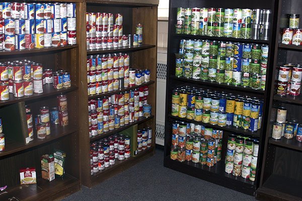Is your plate half empty or half full? Students benefit from food pantry