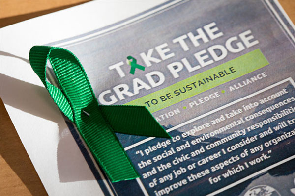 Graduation Pledge of Social and Environmental Responsibility