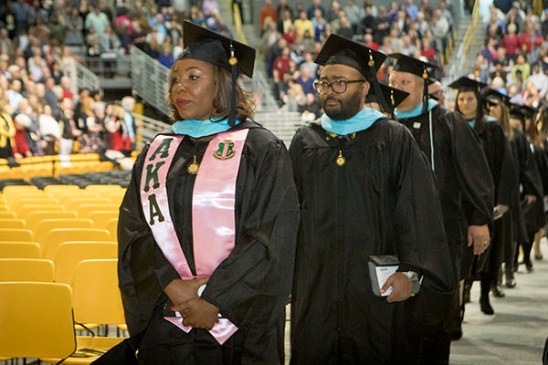 December 2017 commencement ceremonies
