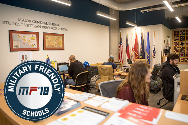 Appalachian named to 9th spot on Victory Media's 2018 Military Friendly® Schools Top 10 list