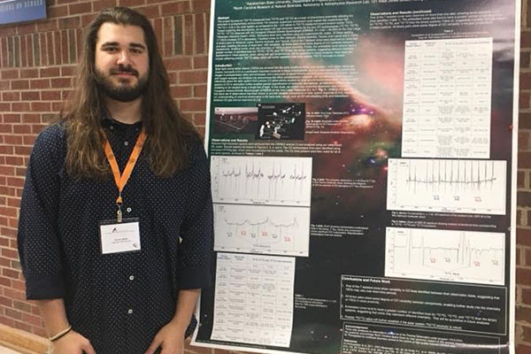 Students present at statewide research event