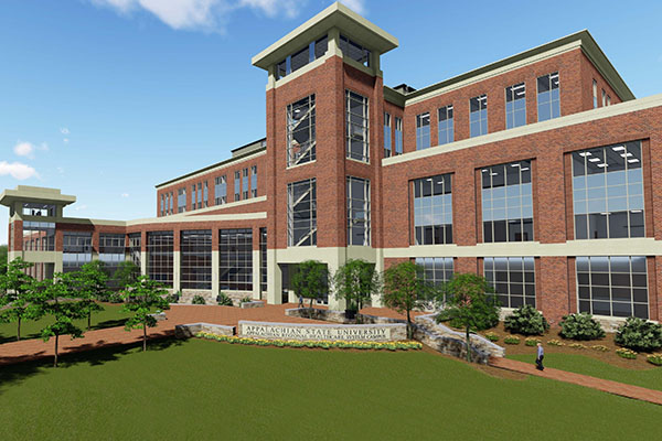 Appalachian names newest facility Leon Levine Hall of Health Sciences