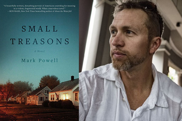 Simon & Schuster announces the publication of Appalachian professor Mark Powell's 'Small Treasons'